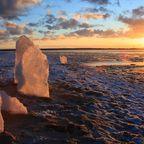 Stonehenge aus Eis