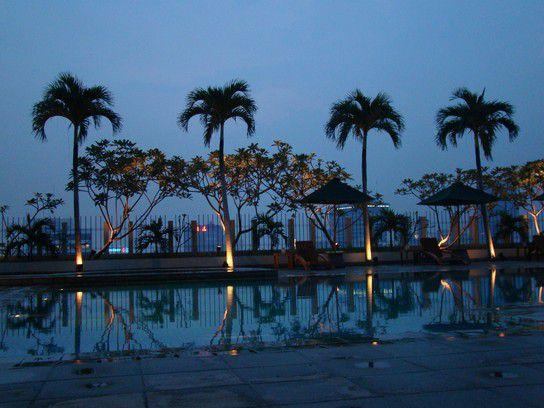 Pool im Hotel Alila