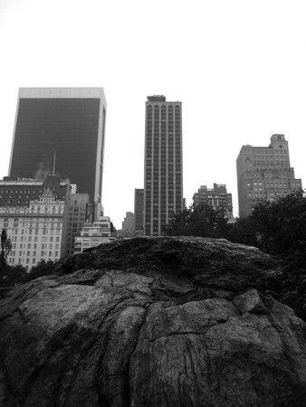 New York 2009, auf dem Felsen erbaut?