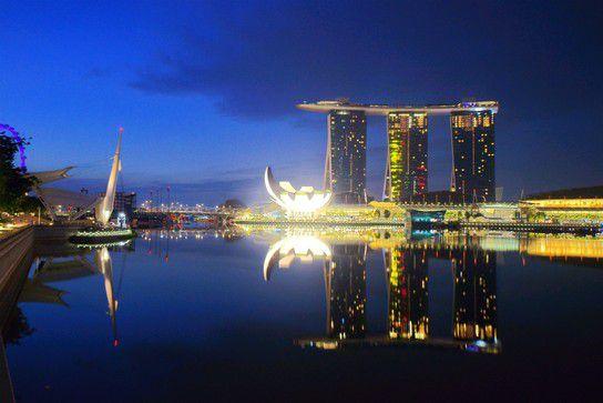 One night in Singapur