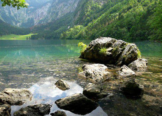 Felsen im Obersee