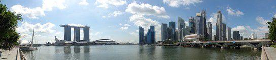 Singapurs neue Skyline