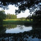 Bassin bei Schloss Solitude