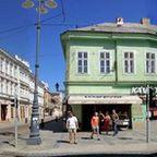 Längste Fußgängerzone Ungarns Alt-Stadt Universitätsstadt Miskolc