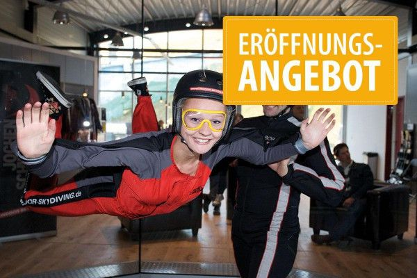 Bodyflying (6 Minuten)