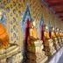 Buddhas im Tempel Wat Arun