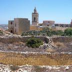 Gozo - Zitadelle in Viktoria