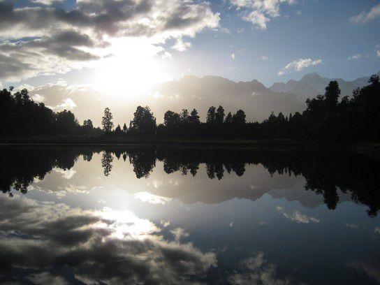 Lake Matheson - Spiegelsee