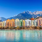 Innsbruck ist die Hauptstadt Tirols