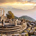 Top-Sehenswürdigkeiten in Griechenland: Ruinen von Delphi