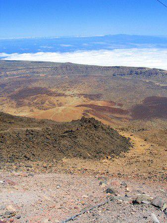 Lava-Fluss am Teide