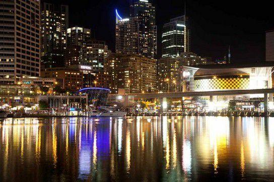 Nacht in Sydney