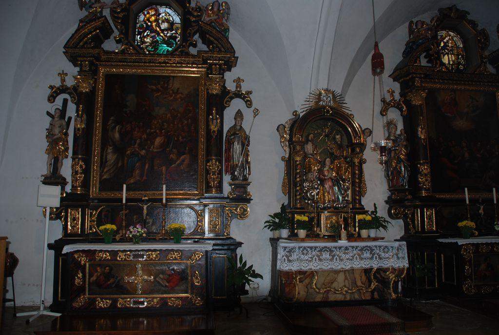 Die Spitalkirche Innen