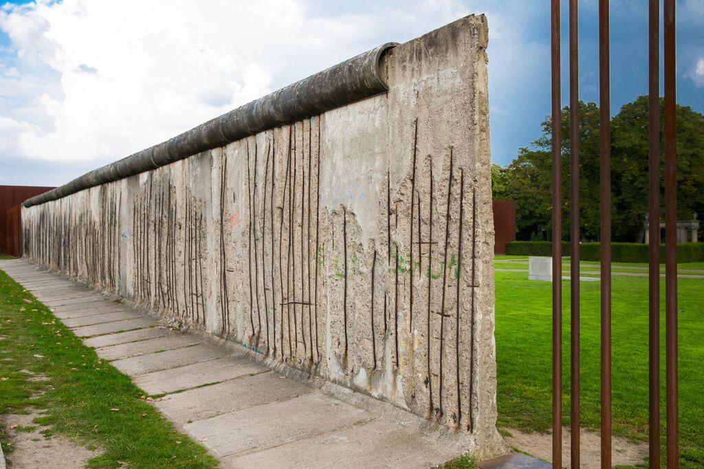 Platz 5: Berliner Mauer, Berlin