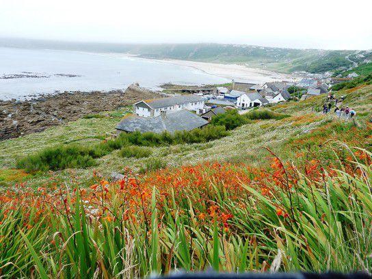Ach, wandern, ach wandern ... an der Küste von Cornwall