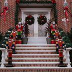 Weihnachtsdekorationen in Brooklyn