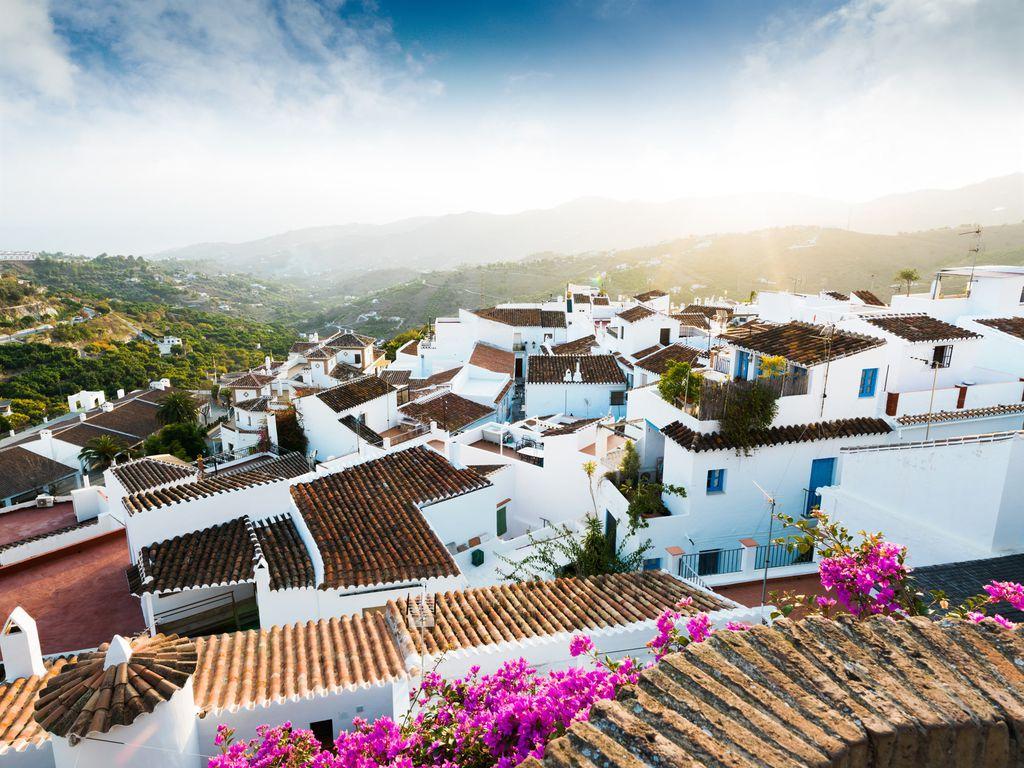 Frigiliana, eines der berühmten Weißen Dörfer