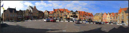 Nieuwpoort Stadt, Marktplein