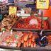 Frischer Fisch auf dem Markt in Bergen