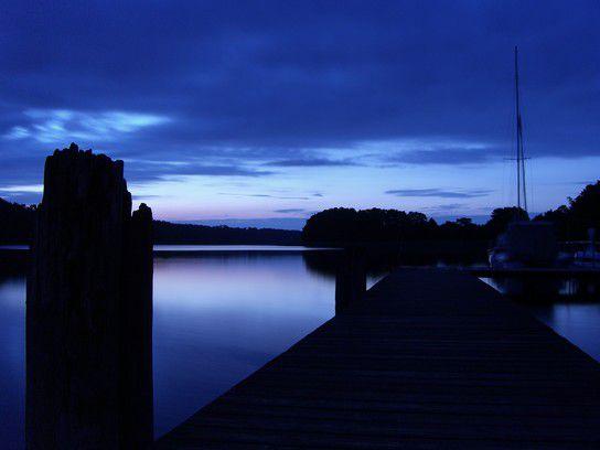 Morgendämmerung Mecklenburgische Seenplatte
