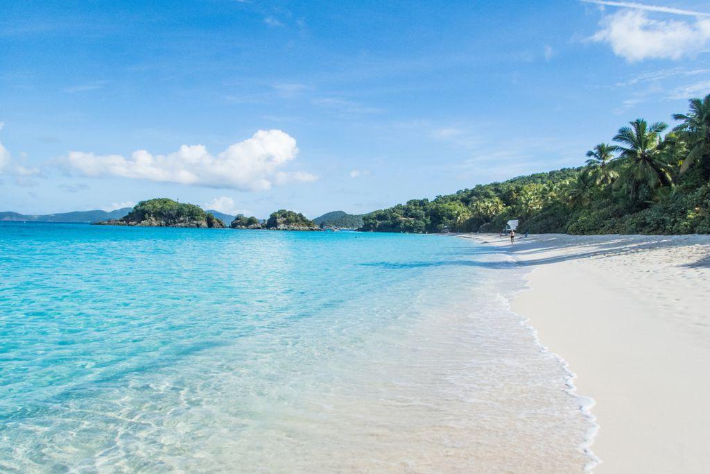 Platz 10 der schönsten Strände der Welt: Trunk Bay, Amerikanische Jungferninseln