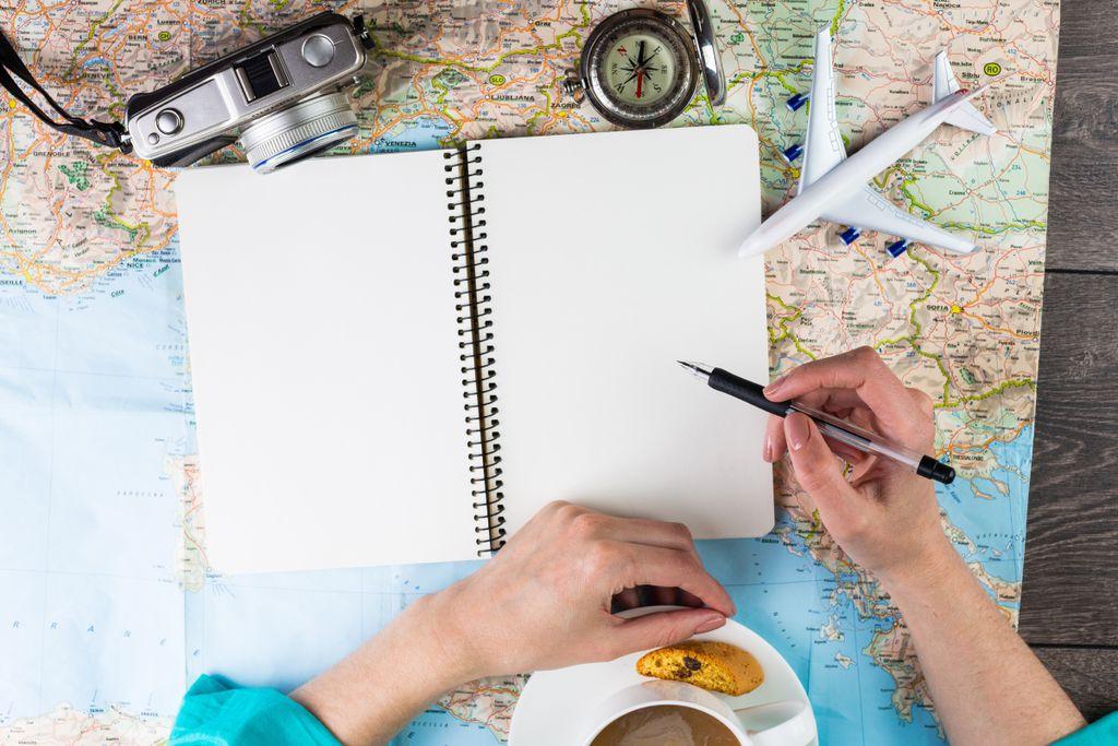 Die Planung einer Solo-Reise macht sehr viel Arbeit