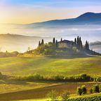 Typisch Toskana: Sonne, grandiose Hügellandschaften und jede Menge Dolce Vita