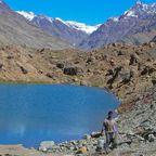 See auf dem Weg nach Ladakh