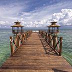 Steg in der Karibik