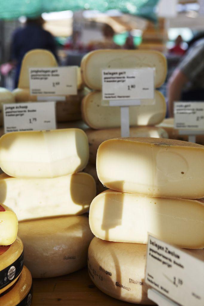Käse auf dem Noordermarkt