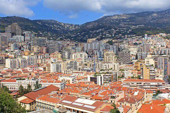 Blick über Monaco