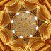 Prunkvolle Decke im Emirates Palace Hotel