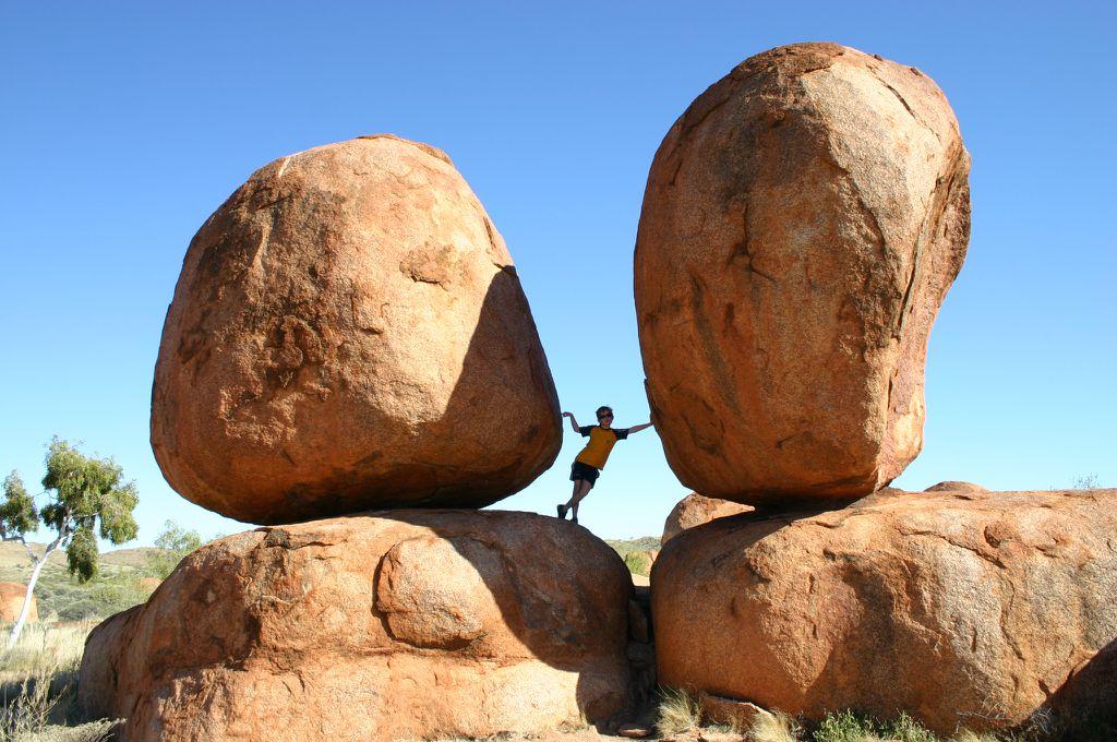 Desert of Australia, Devils Marbles