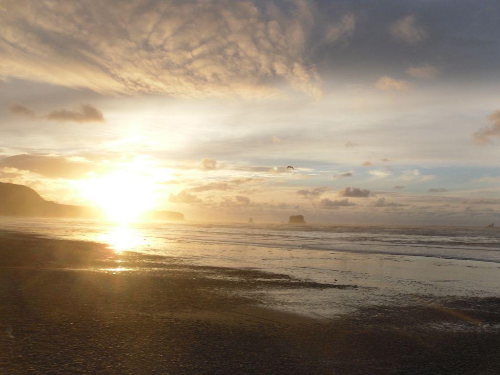 Wo die Sonne das Meer berührt...