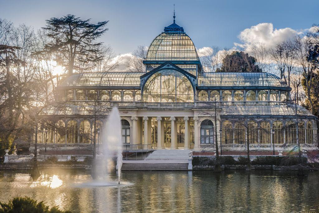 Palacio de Cristal im Retiro Park