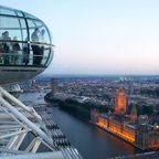 British Airways London Eye & Parliament mit Big Ben