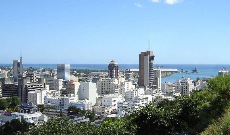 Mauritius - Port Louis Skyline