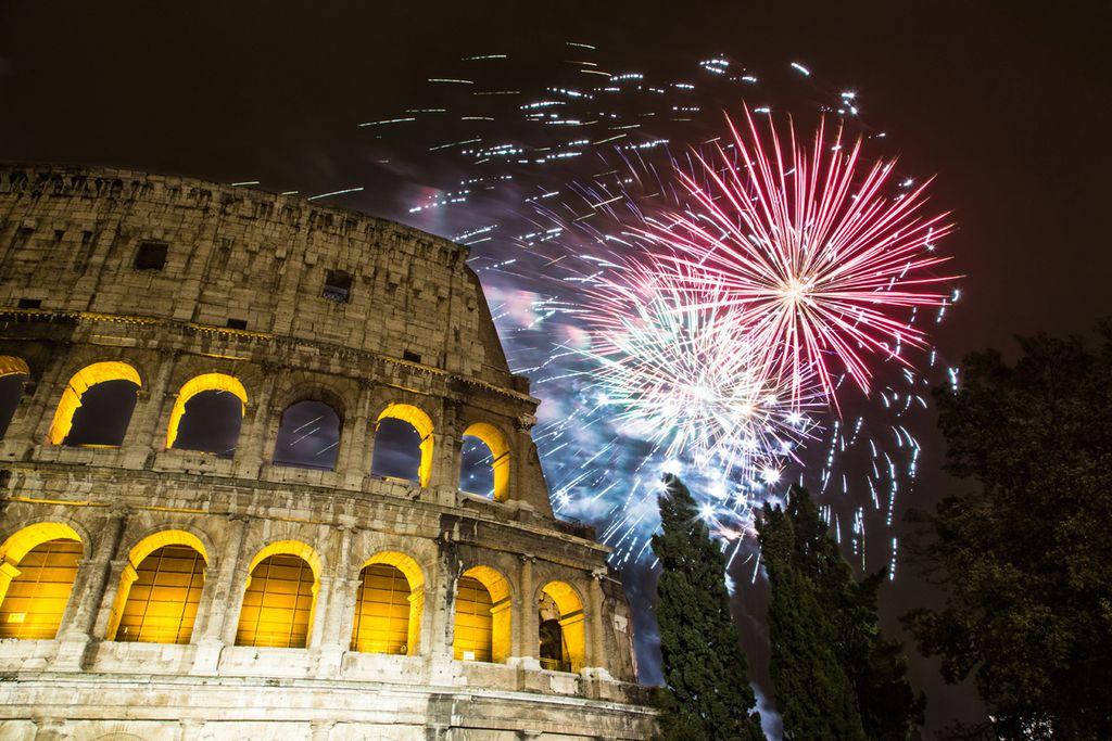 """In der """"ewigen Stadt"""" Rom wird gute Musik mit gutem Essen kombiniert"""