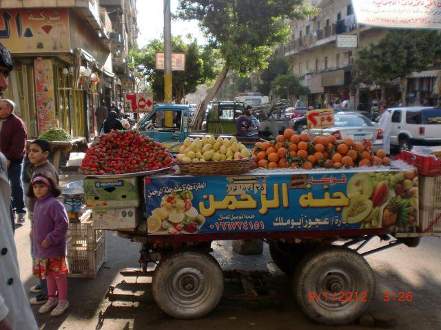 ein Obststand auf ägyptisch!