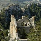 Blick auf die Mesaoria-Ebene von der Burg Buffavento