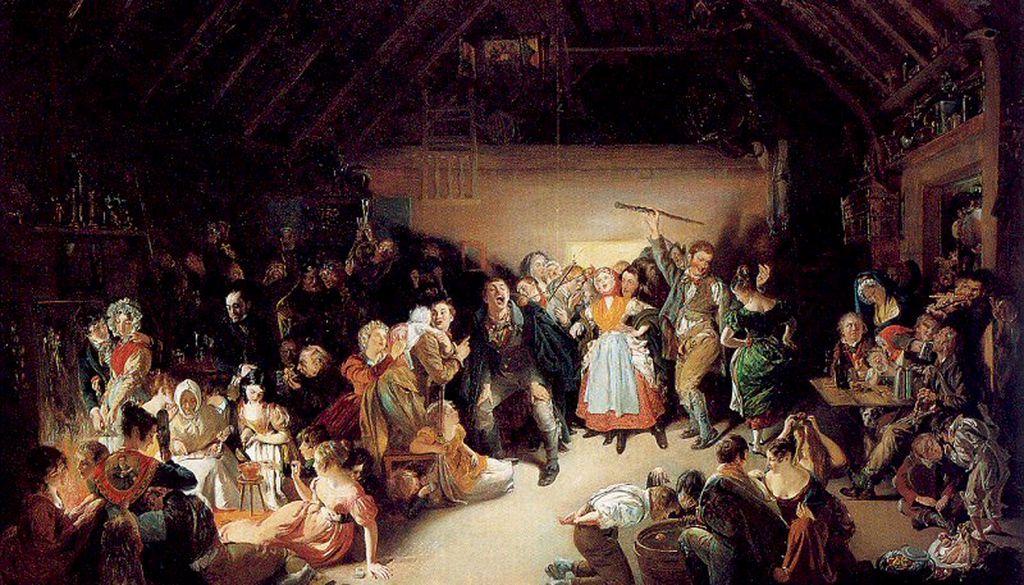 Erst nach dem Mittelalter brachten Auswanderer die Halloween-Traditionen nach Amerika.