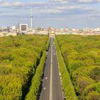 Im Tiergarten die Berliner Luft schnuppern
