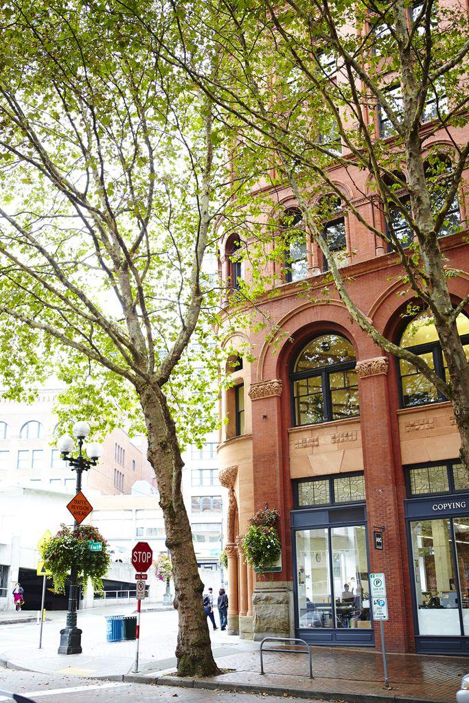 Occidental Avenue in Seattle