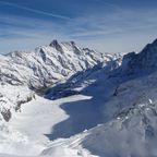 Jungfraujoch Aussichts halt
