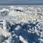 Eisberge am greifswalder Bodden