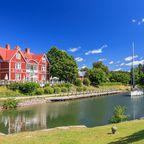 Der Göta-Kanal in Schweden