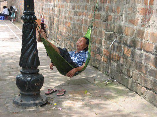 Strassenleben in Vietnam