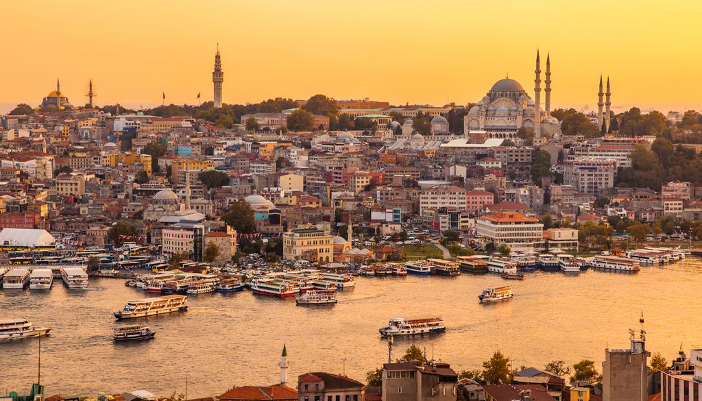 Im April ist Istanbul nicht nur mild, sondern auch angenehm leer
