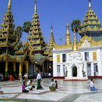 Shwedagon - Pagode in Myanmar