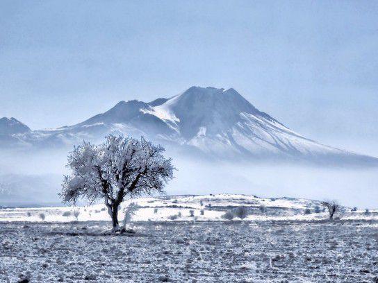 Winter in Anatolien